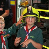 Cubs Visit To Rothwell Fire Station