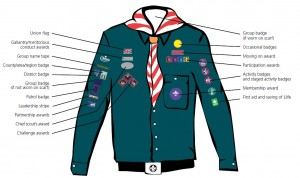 Scout Badge Placement