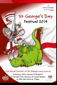 Sunday 27th April it will be St. Georges parade... this is a really exciting and fun event